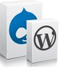 Over 150 Free 1 Click Installs with our Web Hosting packages