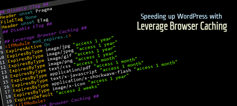 Enable Leverage browser caching for your website
