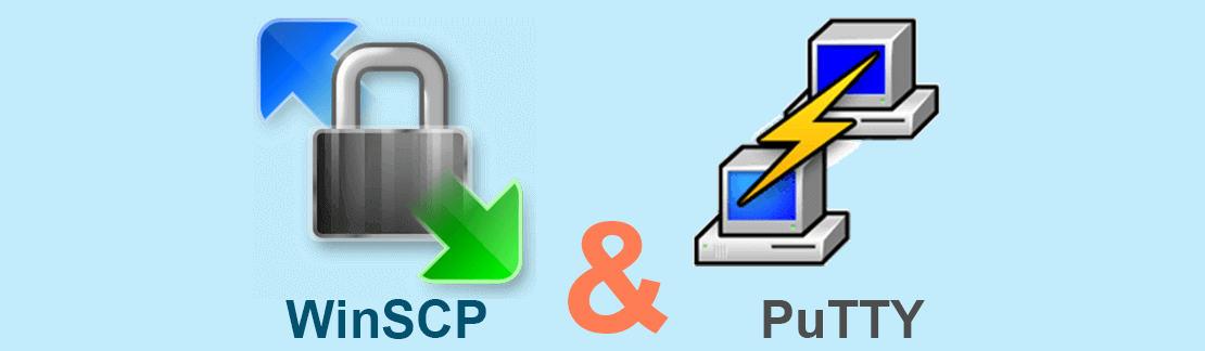 WinSCP and Putty SSH Clients