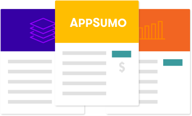 AppSumo Deals: Learn more...