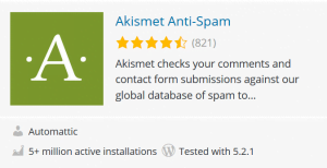 askimet wp plugin