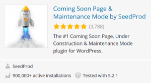 coming soon wp plugin