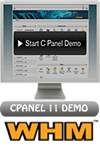Demo of cPanel & WHM