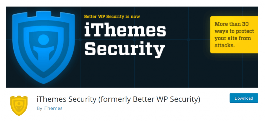 wordpress ithemes security plugin