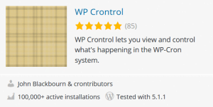 wp cron control plugin